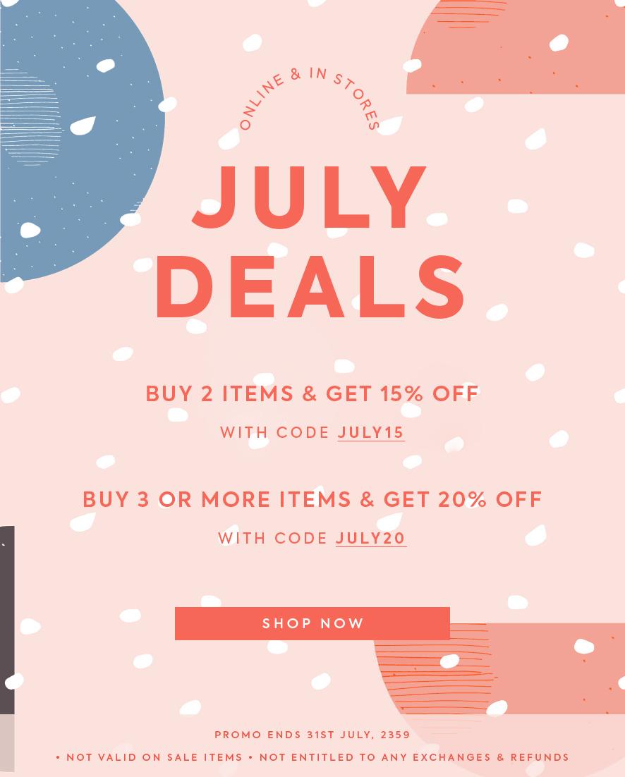 July Deals