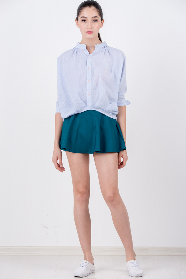 Fred Skorts in Teal (Size XS only)