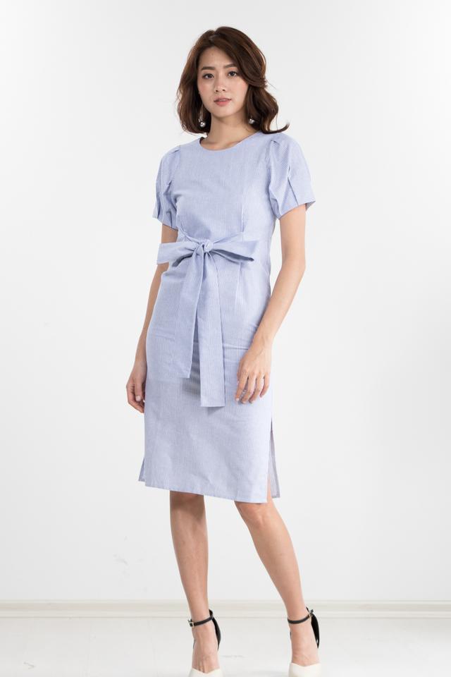 Coachella Striped Midi Dress (Size XS only)
