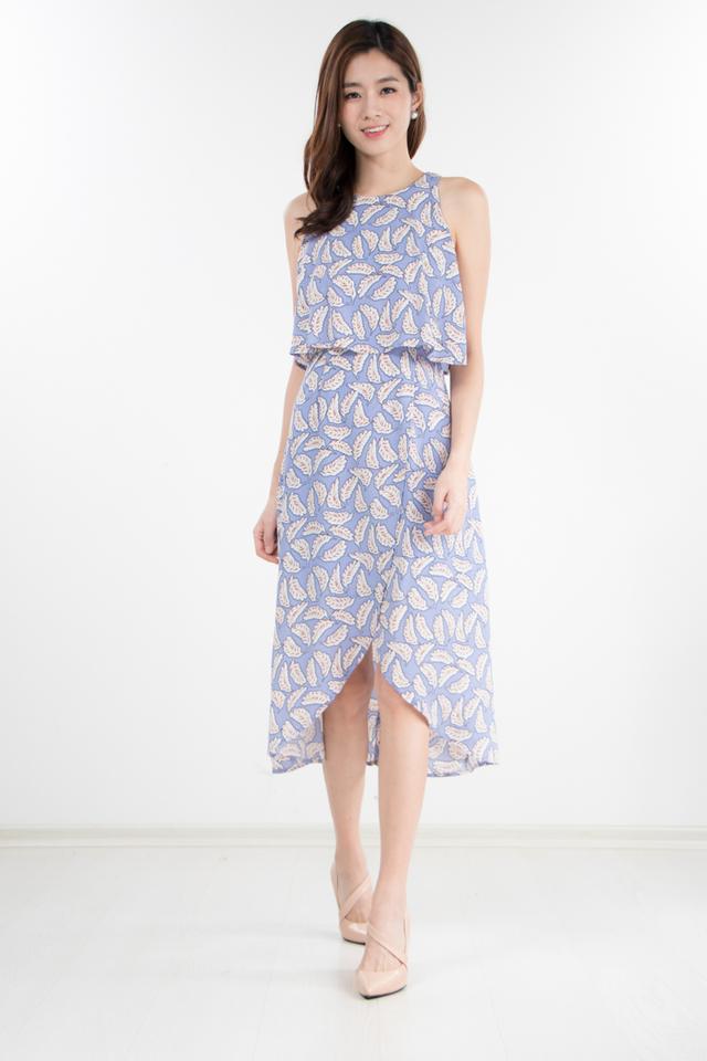 Jewel Printed Midi Dress
