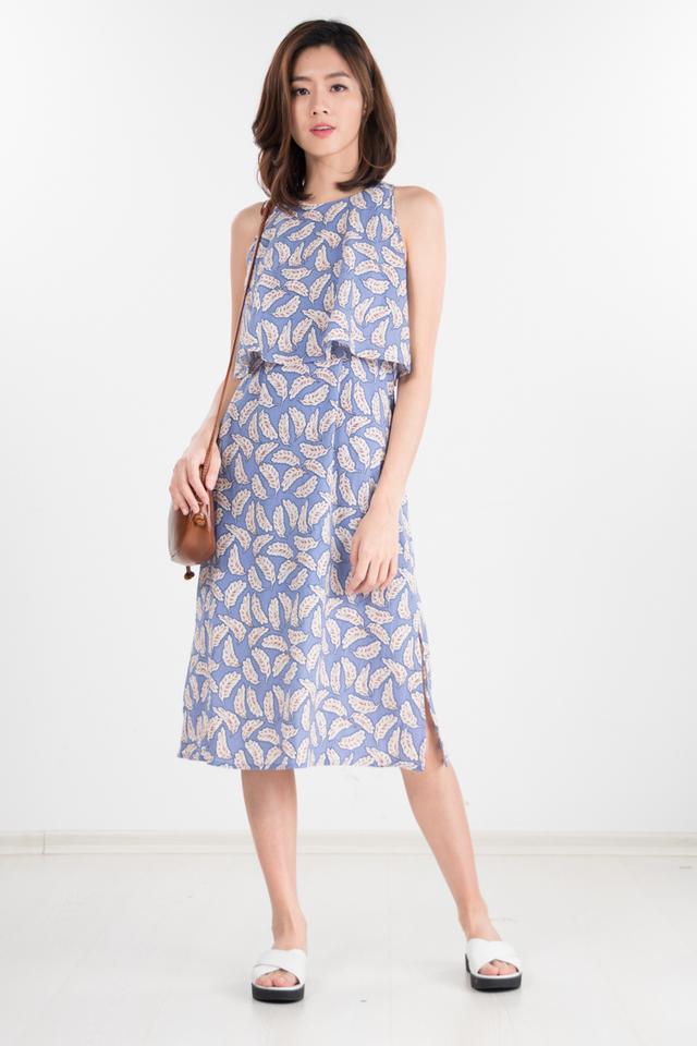 Restocked Iggy Printed Midi Dress