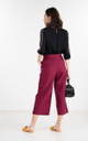 Zoral Pants in Wine Red