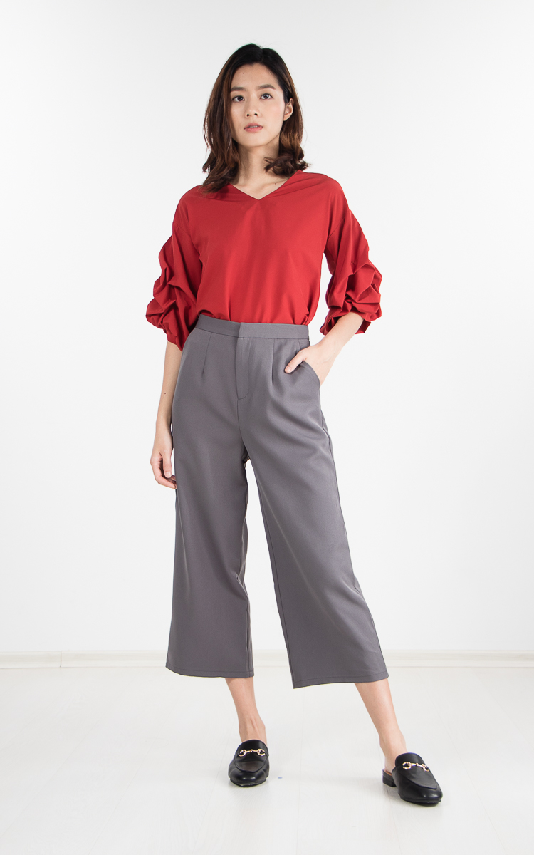 Zoral Pants in Grey