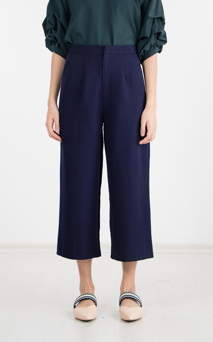 Zoral Pants in Navy Blue