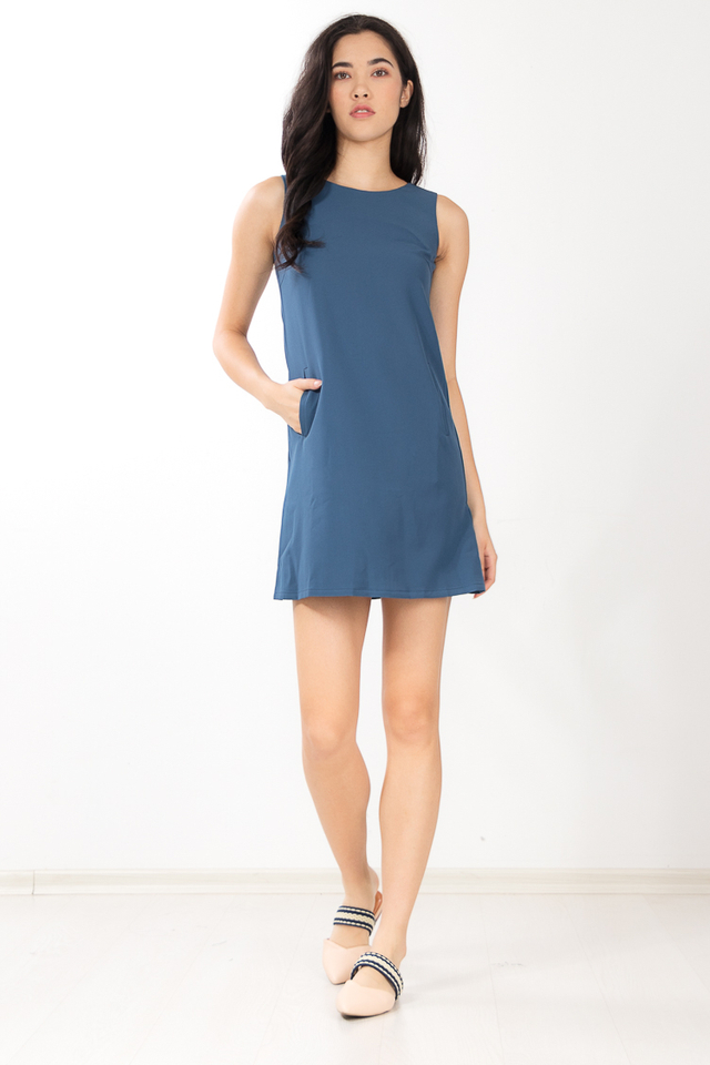 Lainey Dress in Teal