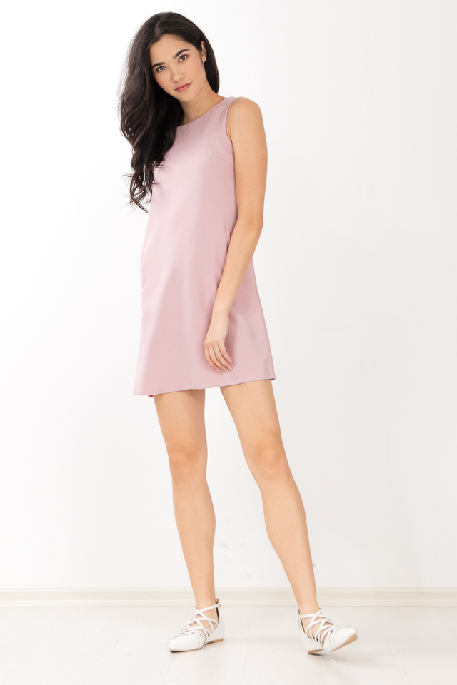 Lainey Dress in Pink