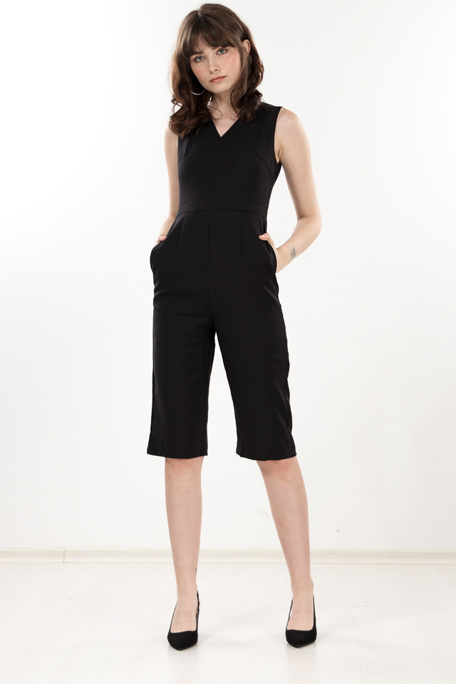 Micelia Jumpsuit in Black