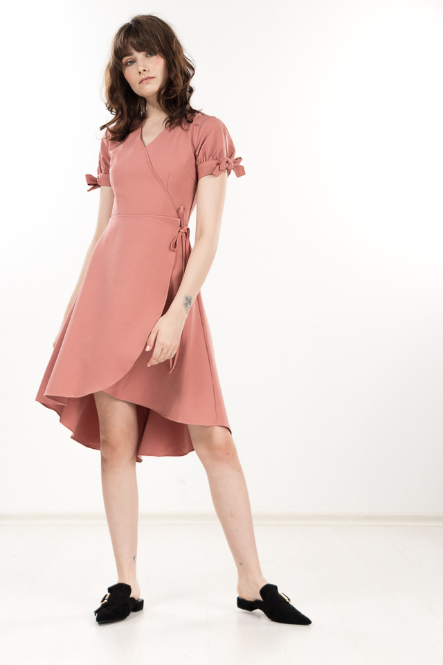Hester Dress in Pink