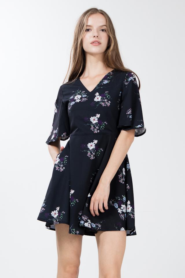 Raziel Floral Skater Dress