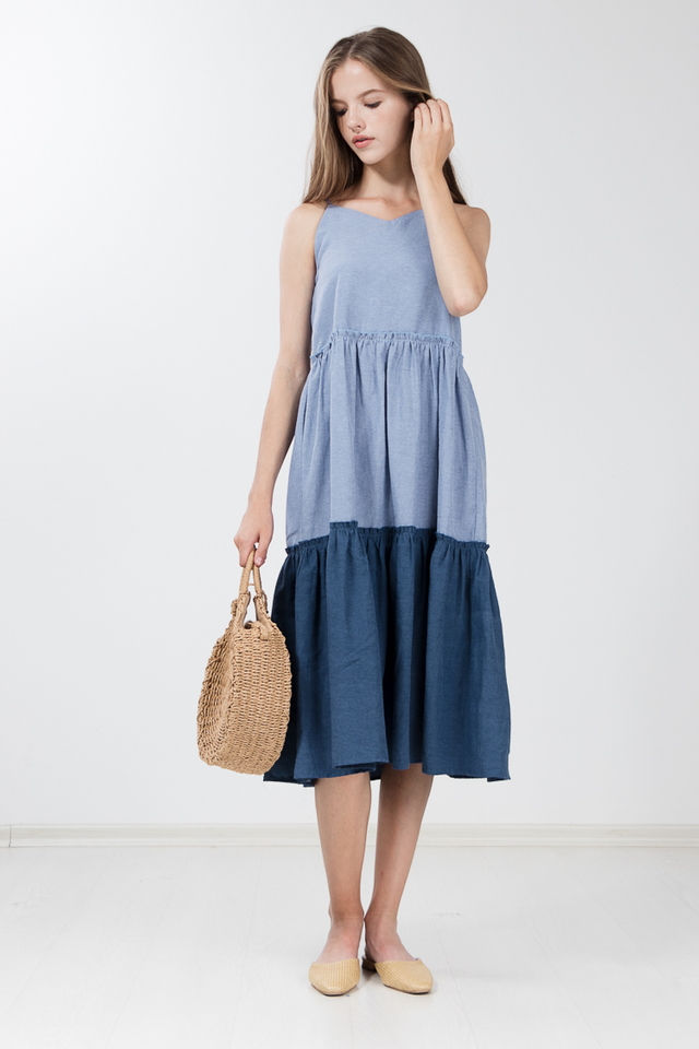 Nitto Tiered Maxi Dress