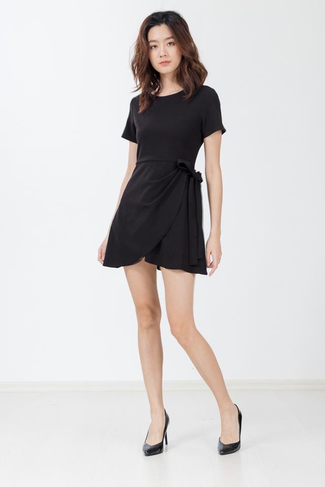 Carrey Dress in Black