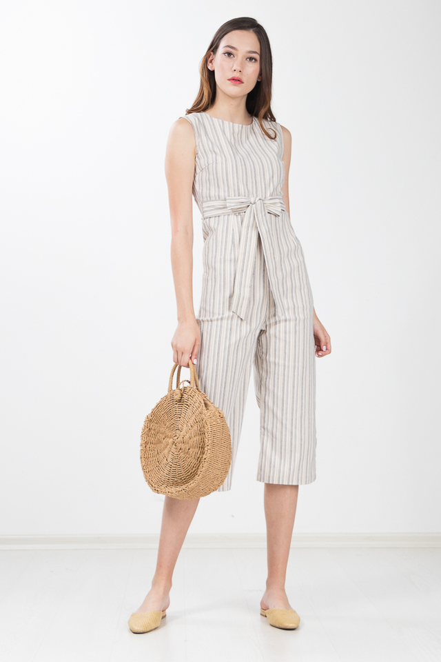 Everley Striped Jumpsuit