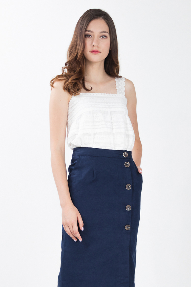 Restocked Kenzie Eyelet Lace Top