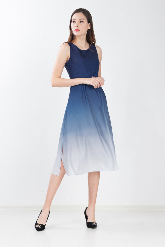 Jilly Ombre Maxi Dress