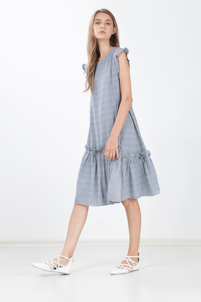Brynlee Gingham Dress