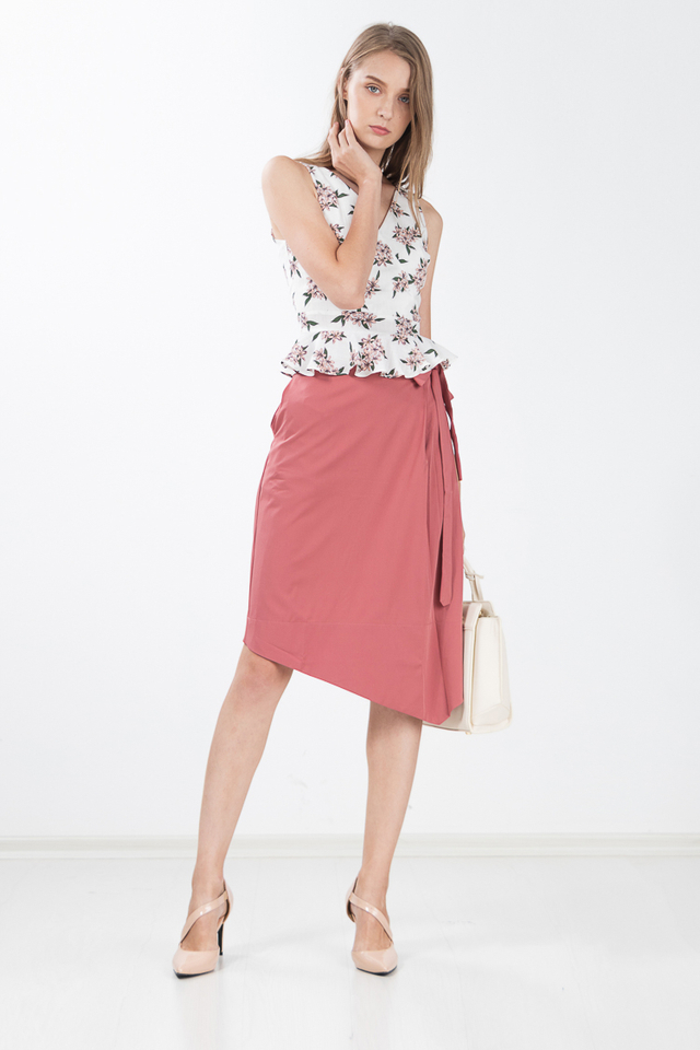 Gretelle Skirt in Rose