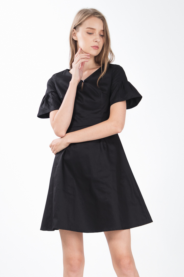 Sloane Dress in Black