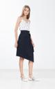 Gretelle Skirt in Navy Blue