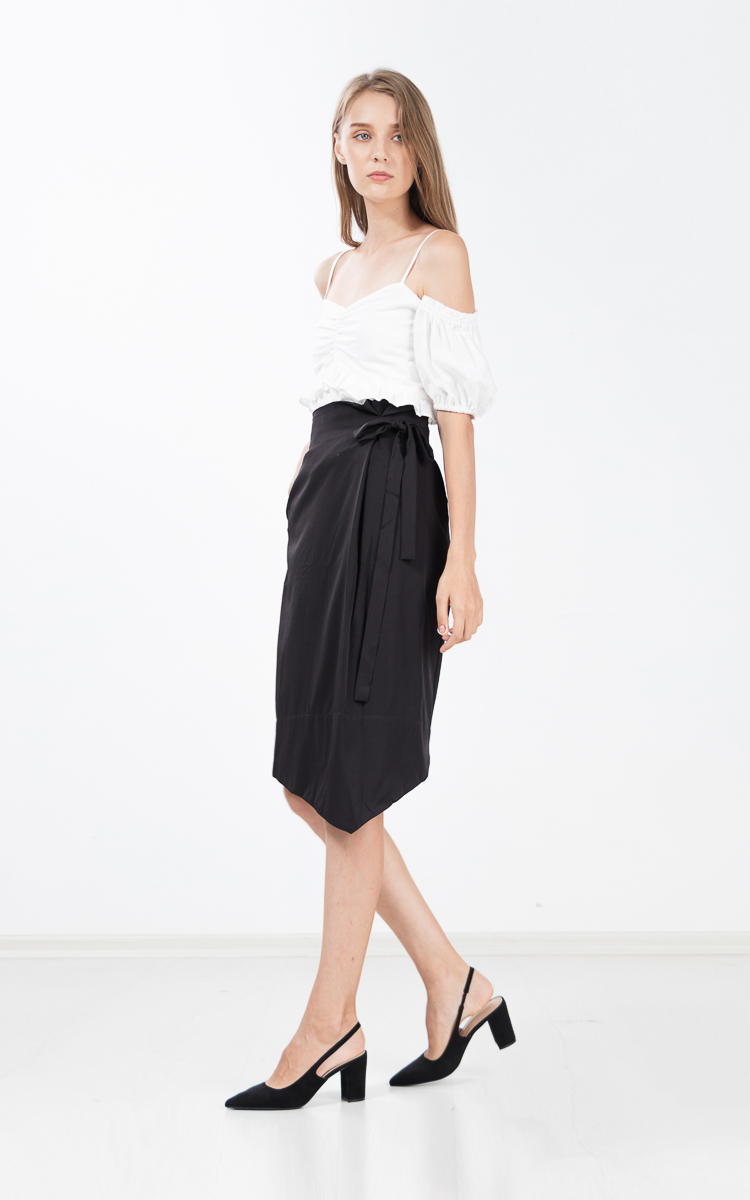 Gretelle Skirt in Black