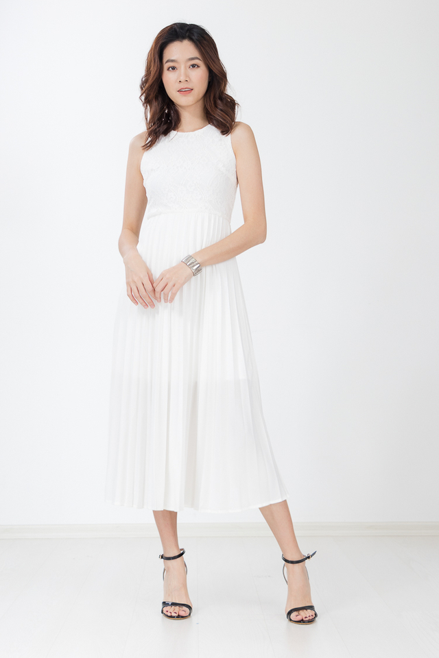 Patryn Maxi Dress in White
