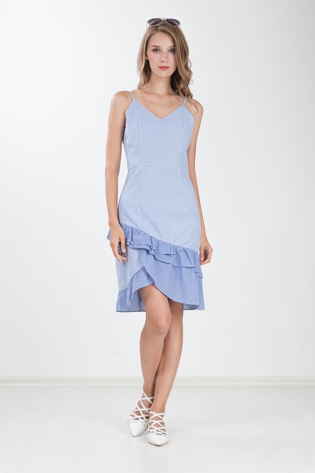 Franca Layered Hem Dress