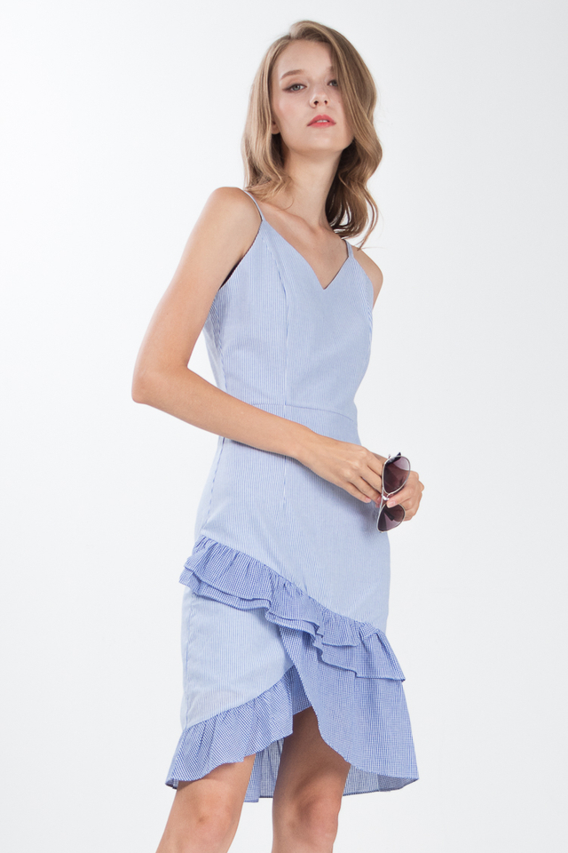 Franca Layered Hem Dress