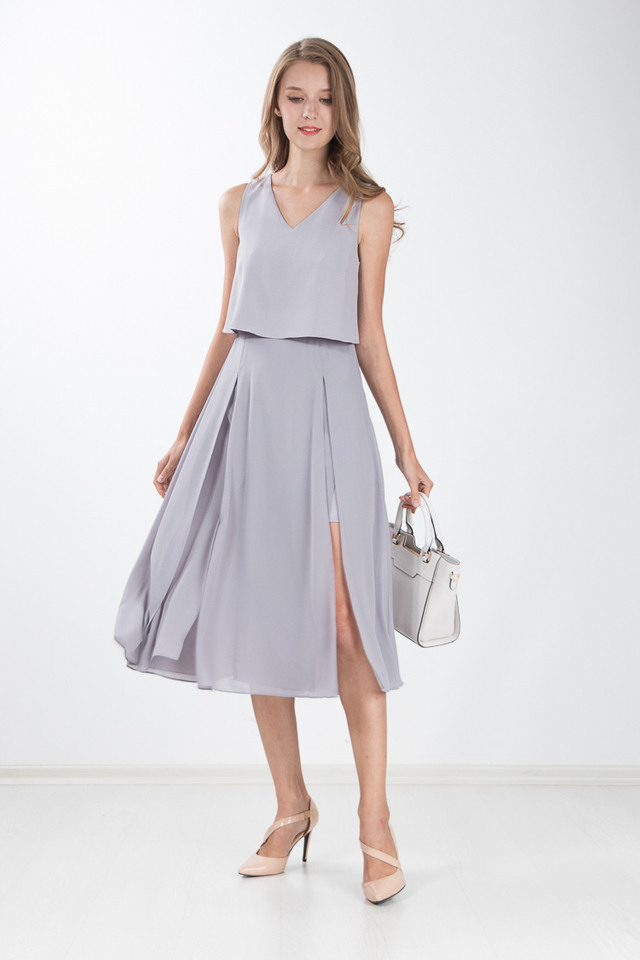 Loretta Maxi Dress in Mauve