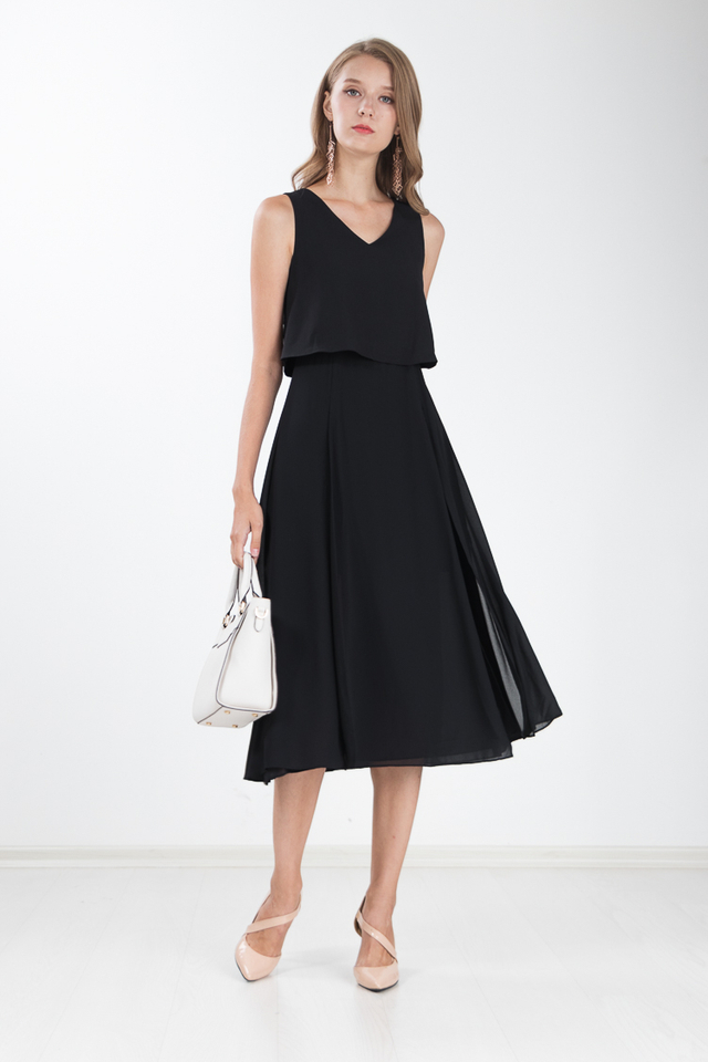 Loretta Maxi Dress in Black