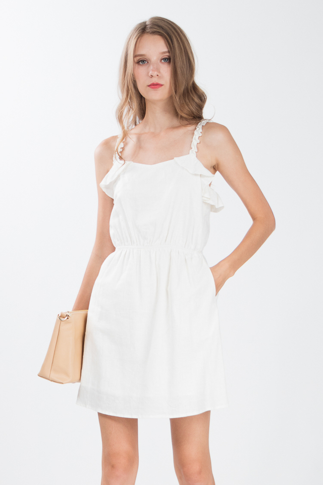 Vale Dress in Off-White