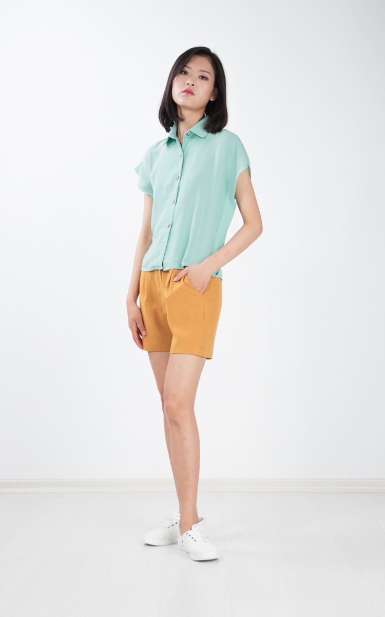 Risther Top in Mint