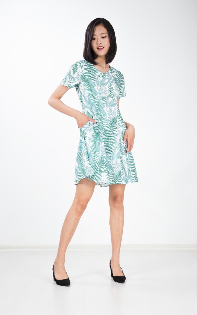 Susanne Printed Dress