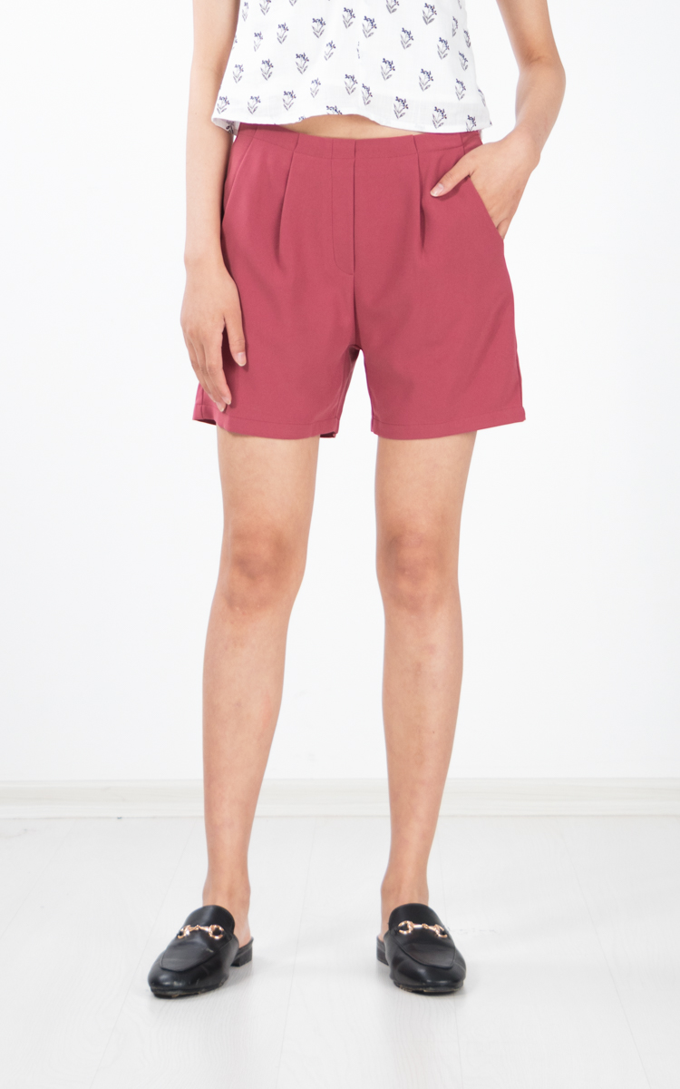Peja Culottes Shorts in Rose