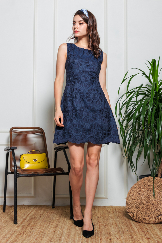 Jen Embroidered Dress