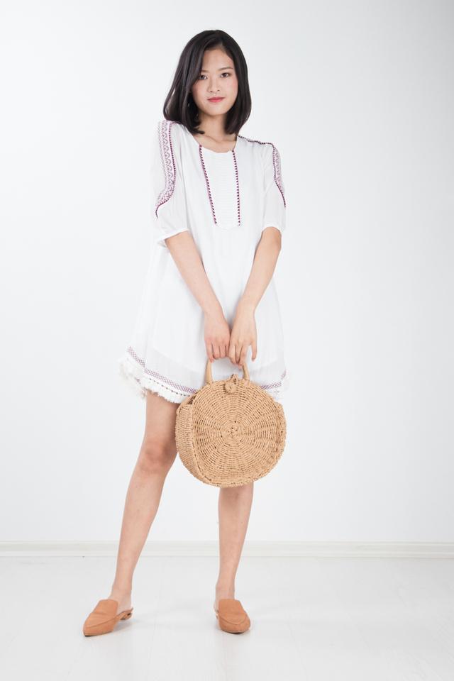 Arti Embroidered Dress