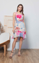 Willy Floral Hi-Lo Dress