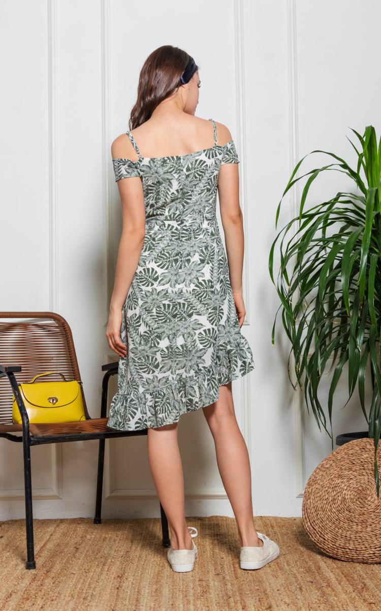 Tacy Botanical Floral Dress