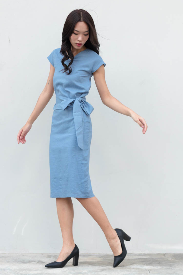 Ladee Peplum Work Dress