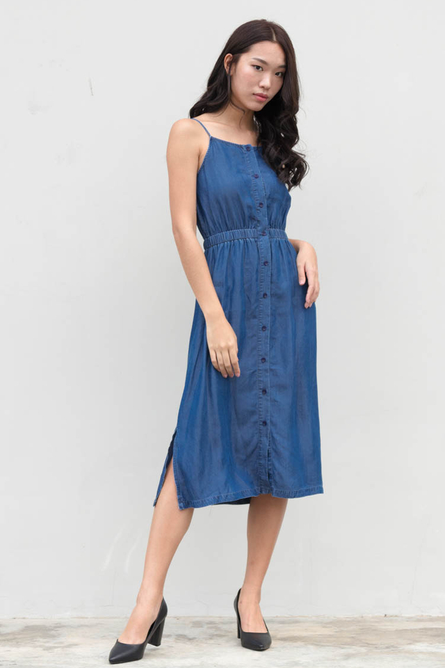 Calla Denim Dress