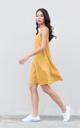 Jada Swing Dress in Mustard