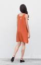 Jada Swing Dress in Rust