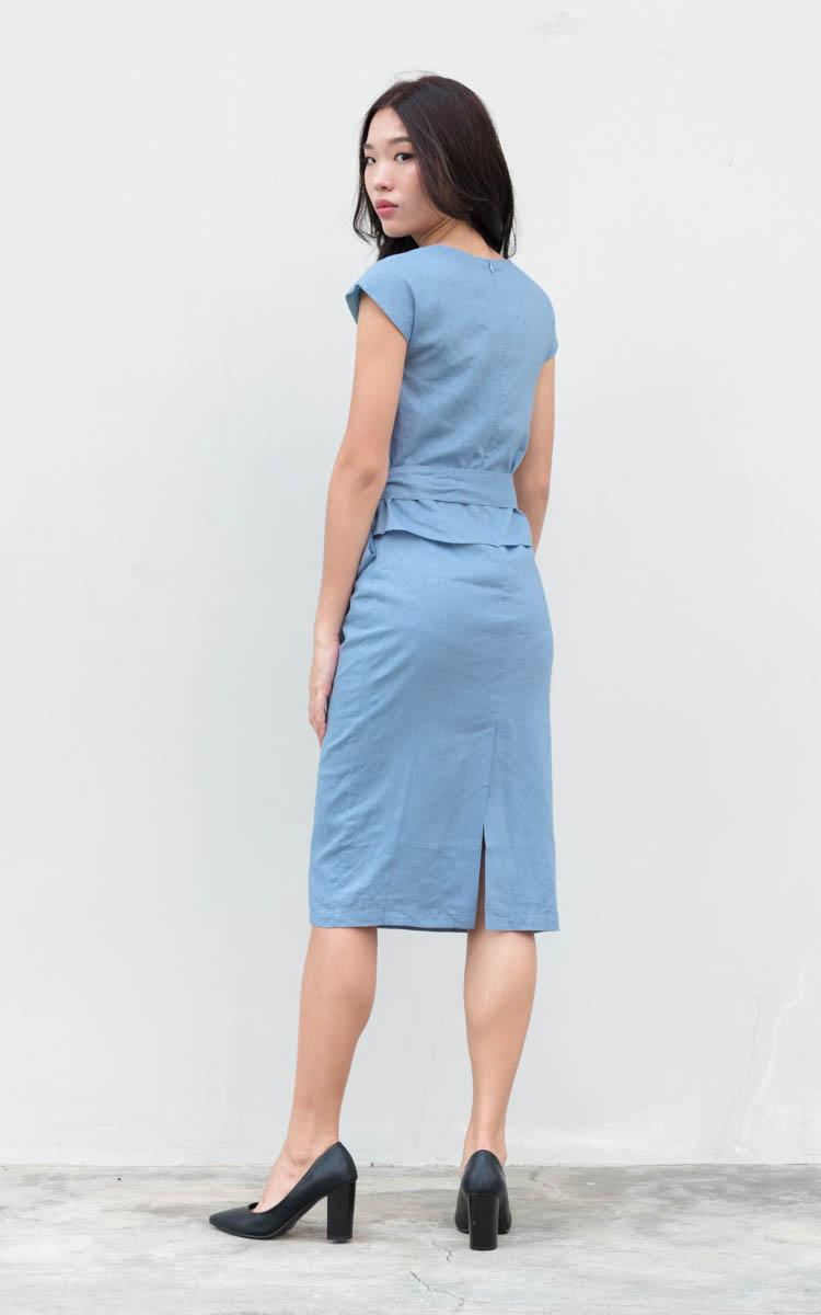 Ladee Peplum Work Dress