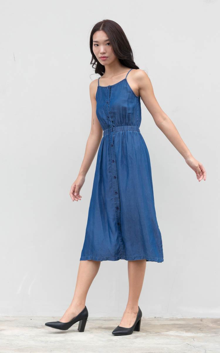 Calla Denim Dress