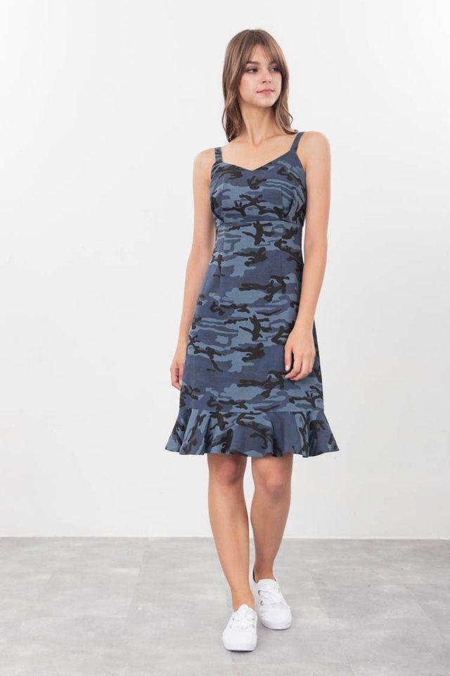 Genna Camo Dress